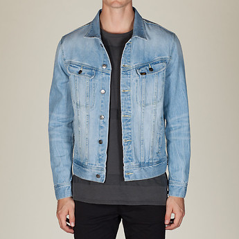 RIDER JACKET SLACKER BLUE
