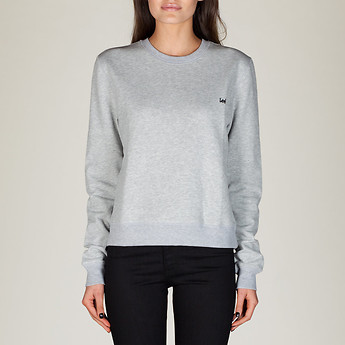 NO BRAINER CREW GREY MARLE
