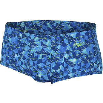 MEN'S SWIM PIXEL RETRO TRUNK