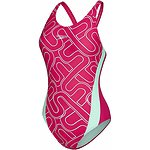 MONOGRAM ALLOVER SPLICE MUSCLEBACK ONE PIECE